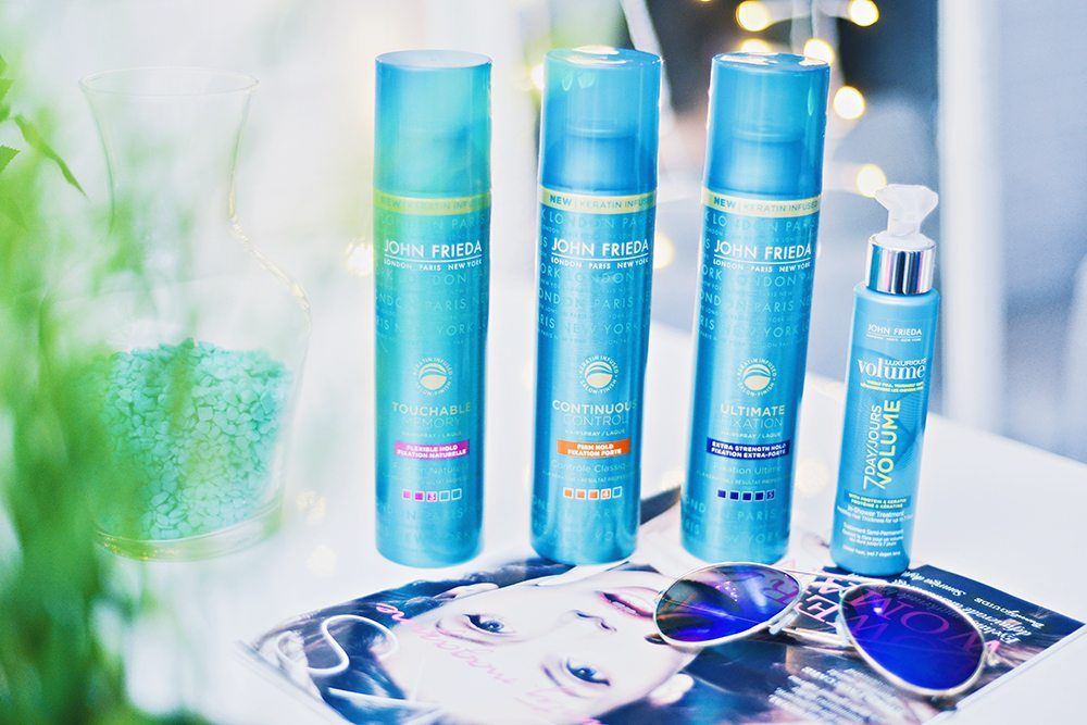 John Frieda Hairspray Collection