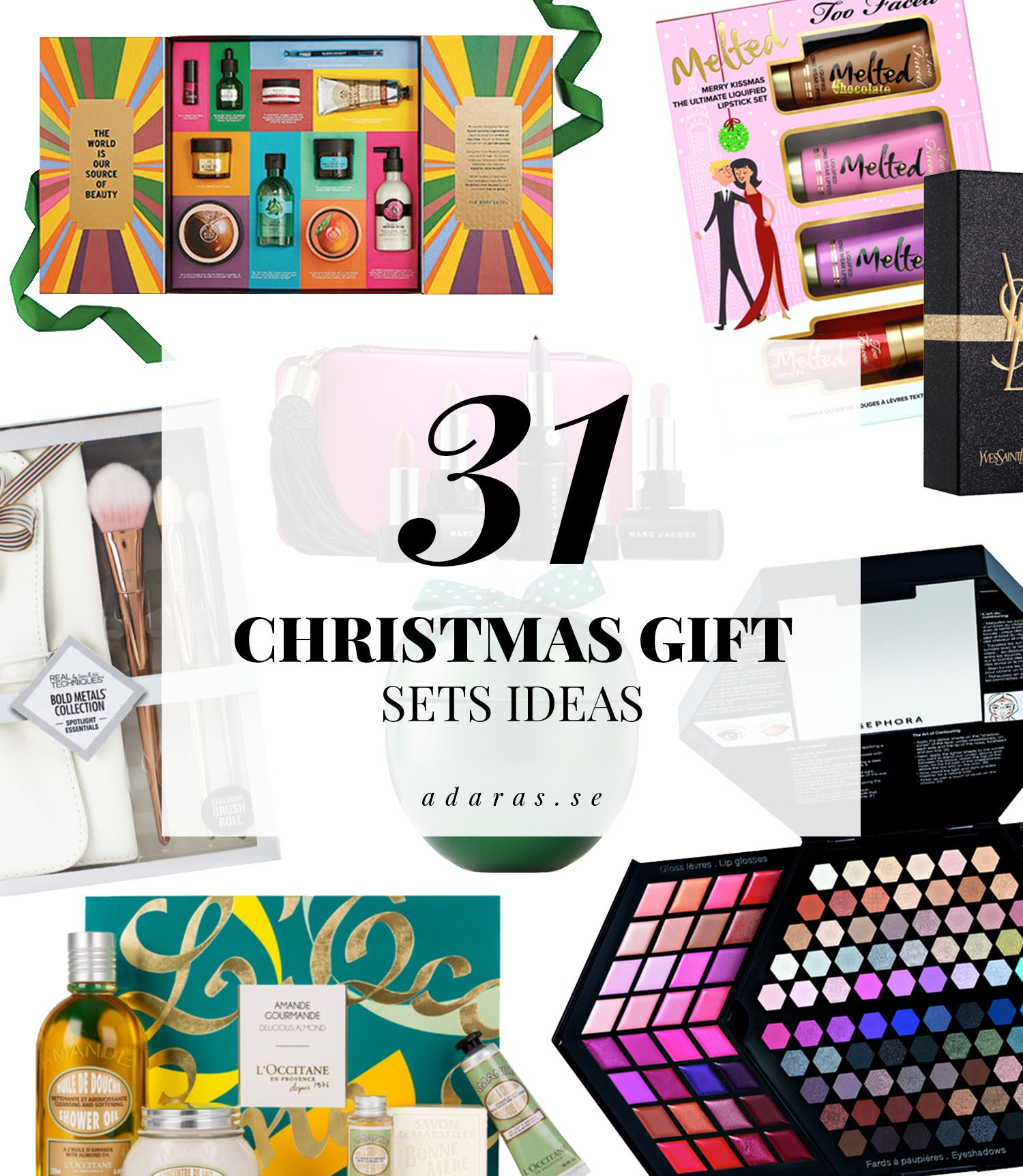 Färdiga presentkit - Christmas Gift Sets Ideas