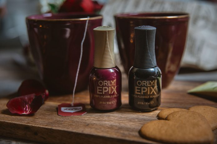 Orly Epix Flexible Color Step 1 & Step 2