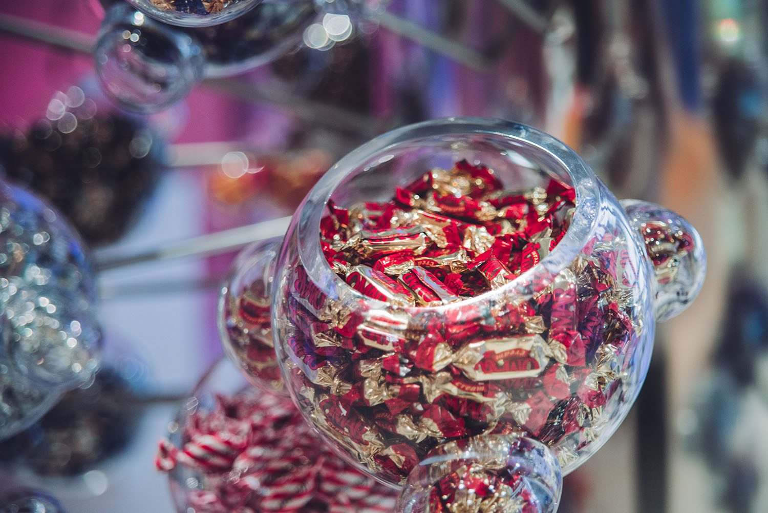 Eat as much candy as you want at Fazer Chocolate Factory