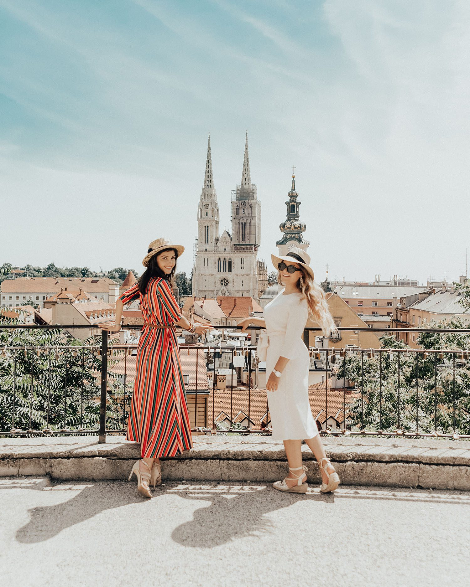 Viewpoint over Zagreb Cathedral