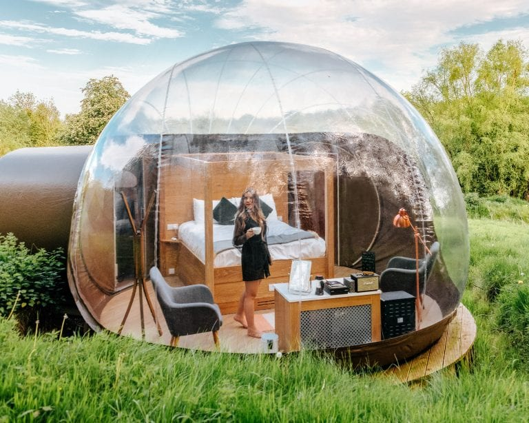 Finn Lough Resort – Stay in a Bubble Dome in Northern Ireland