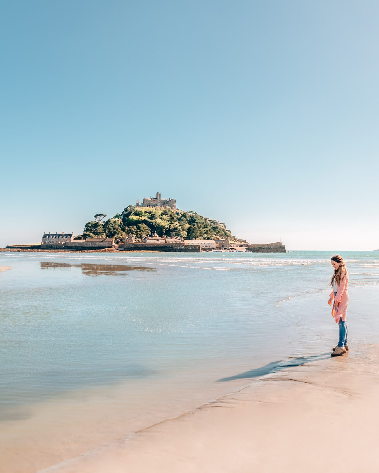 St. Michael's Mount | The Most Instagrammable Places in Cornwall, England, UK