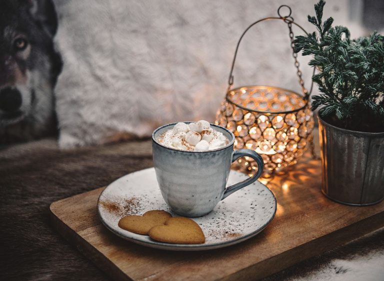 DIY: Hot Chocolate with Whipped Cream and Marshmallows