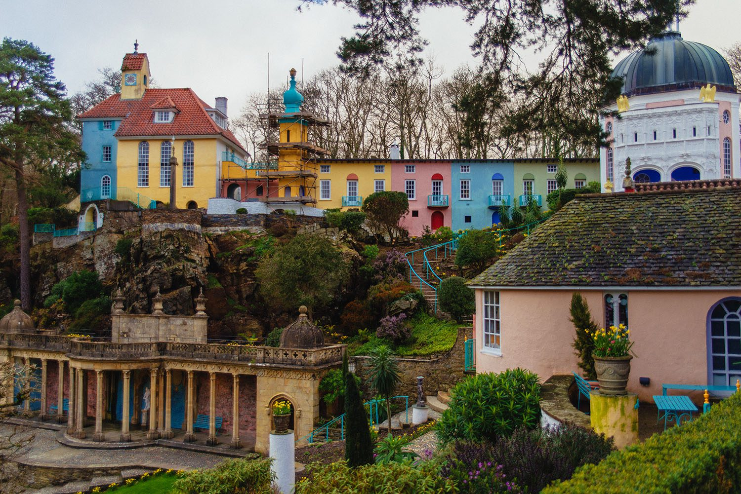 Portmeirion Village in Wales
