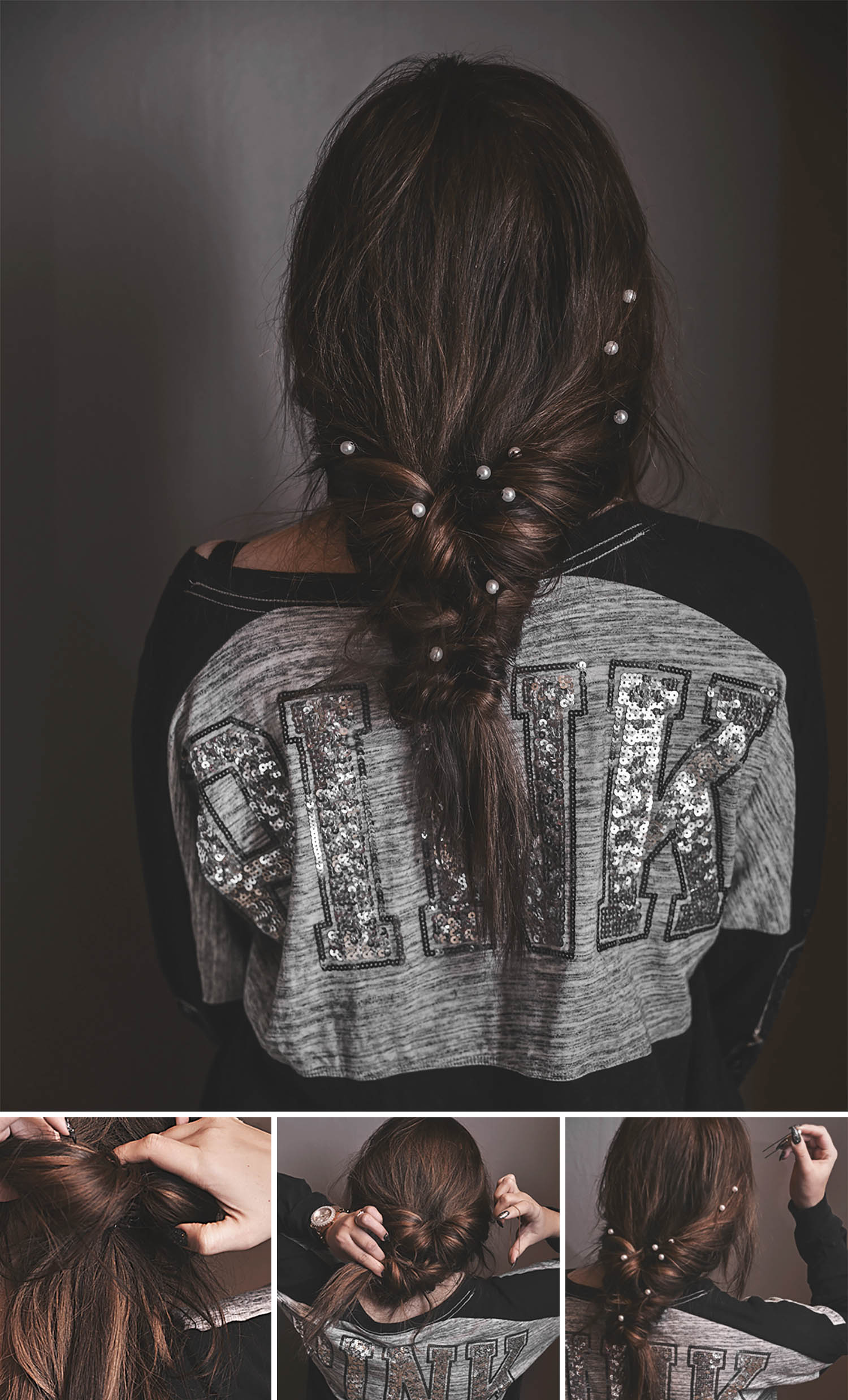 ADARAS Easy Hairstyles: Messy & Chic Faux Braid