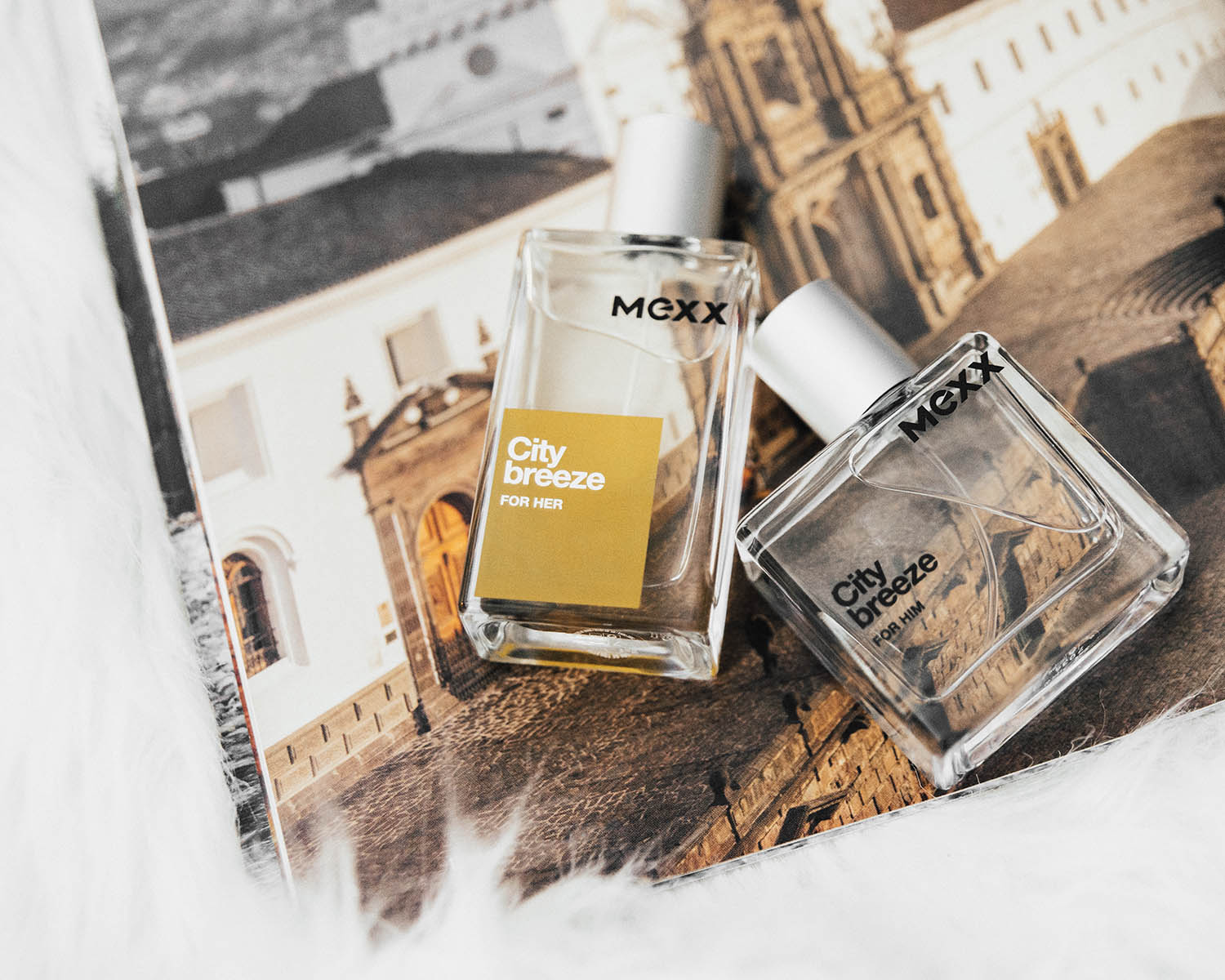His and Hers Fragrances: Mexx City Breeze for her & for him