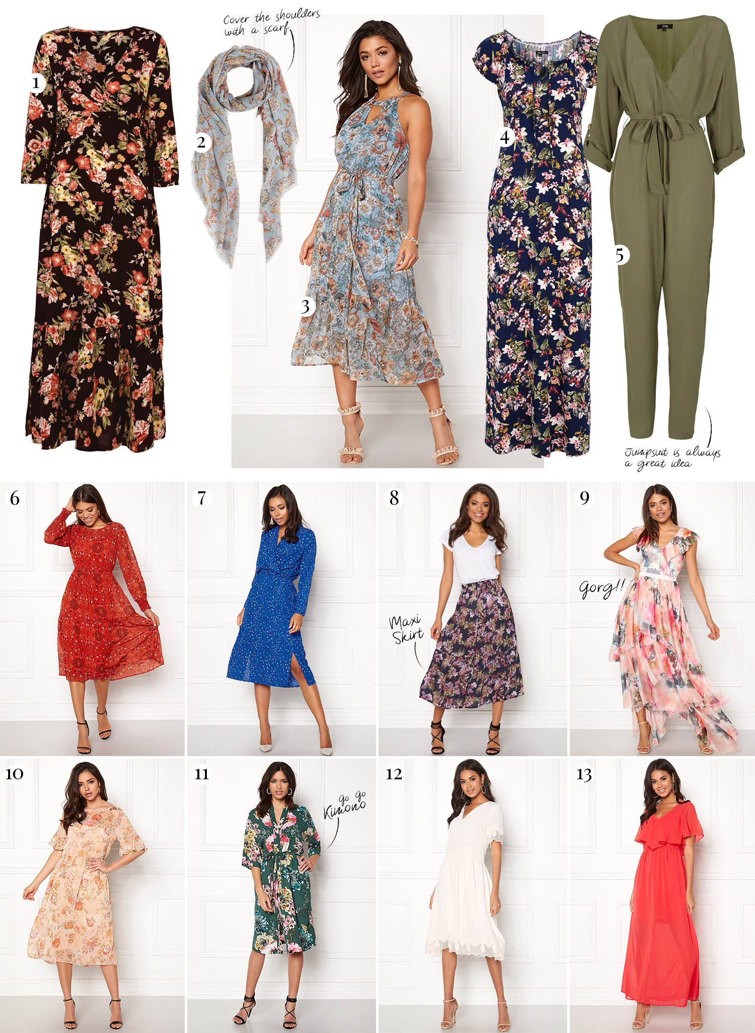 What to Wear in Thailand: Maxi Dresses & Maxi Skirts for Temple Visits
