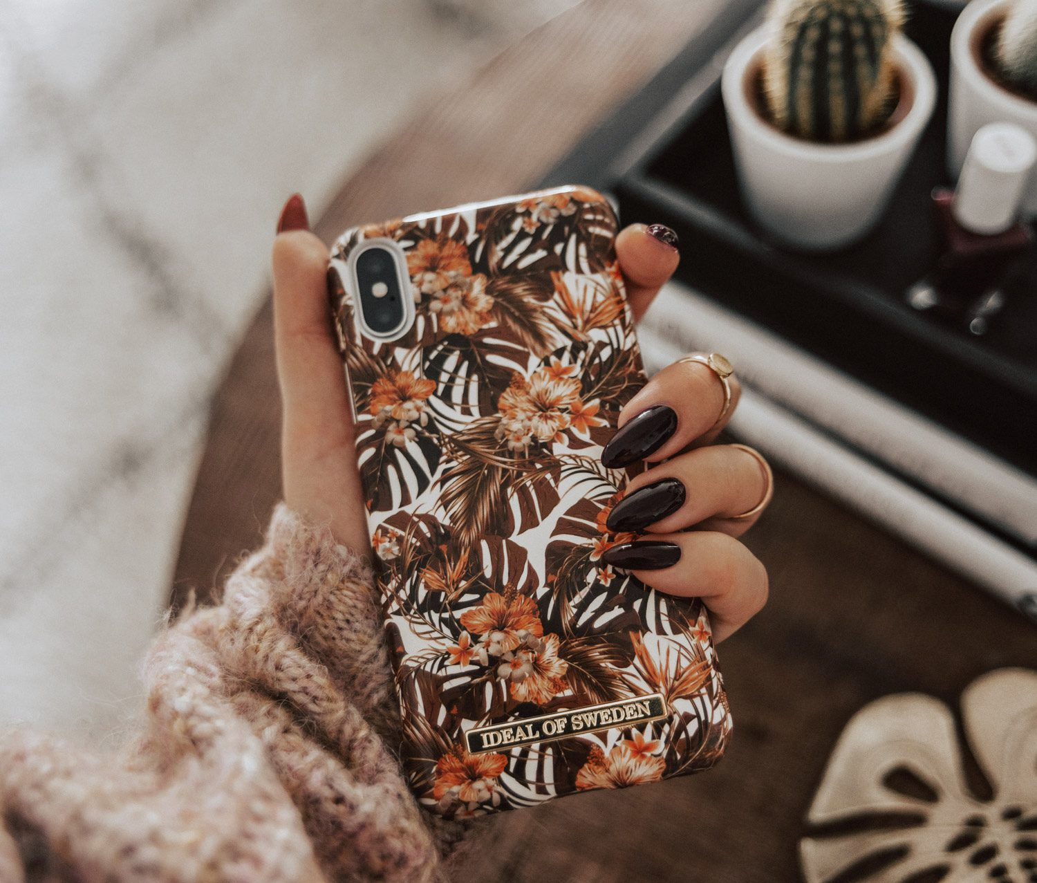 Ideal of Sweden Autumn Forest iPhone Case A/W18
